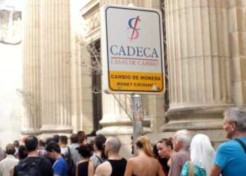 CADECA on Obispo Street. Photo: AP.
