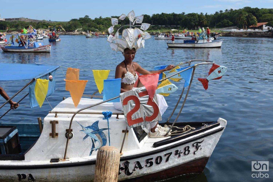 Havana's aquatic carnival, Saturday, August 3, 2019. Photo: Otmaro Rodríguez.
