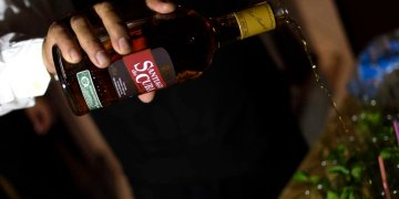 Rum Santiago of Cuba. Photo: Otmaro Rodríguez.