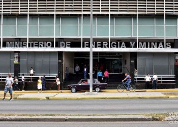 Headquarters of the Cuban Ministry of Energy and Mines, in Havana. Photo: Otmaro Rodríguez.