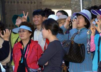 Chinese tourists. Photo: EFE / Archive.