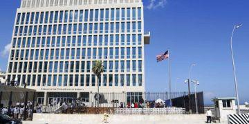 U.S. Embassy in Havana. Photo: Desmond Boylan / AP.