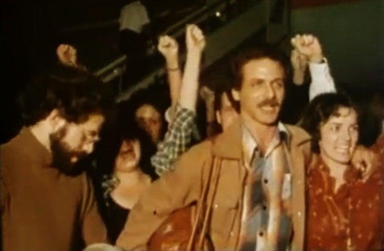 "Still from the documentary ""55 hermanos,"" directed by Jesús Díaz."