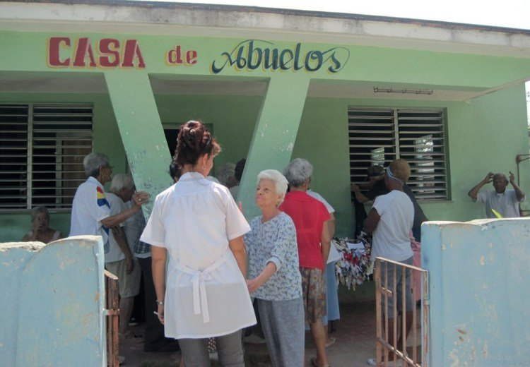 Grandparents' home in Cuba, for the care of the elderly. Photo: iris.paho.org / Archive.