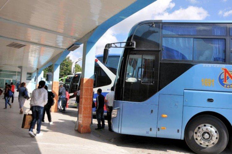 Interprovincial transportation bus in Cuba. Photo: periodico26.cu / Archive.