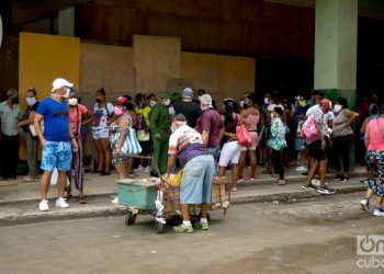 Havana reported all of the coronavirus cases in Cuba for the second consecutive day, mostly associated with transmission events in three work centers in the city. Photo: Otmaro Rodríguez