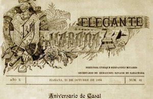 Portada de La Habana Elegante. Foto: habanaelegante.com.