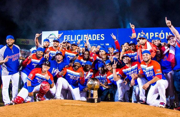 Los Criollos de Caguas, campeones por segundo año consecutivo. Foto: @SDCJalisco2018 / Facebook.
