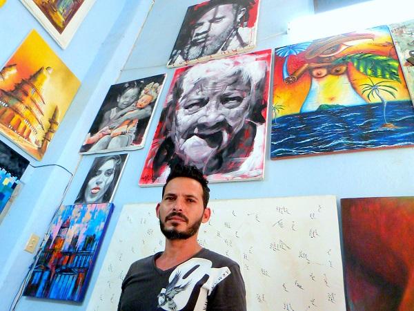 Maykel Benítez. Foto: Ángel Marqués Dolz.