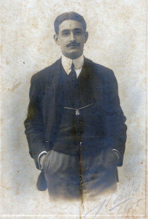 Sergio en 1905.