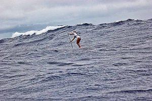 Victoria Burgess ha completado el M2O y el Molokai a Maui. Foto: Roray Kam.