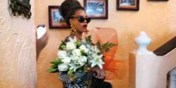 Beyoncé en el restaurante La Moneda Cubana en La Habana Vieja