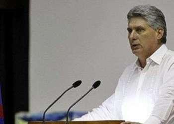 El presidente cubano Miguel Díaz-Canel. Foto: flickr.com