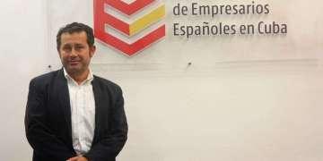 Xulio Fontecha, presidente de la Junta Directiva de la Asociación de Empresarios Españoles en Cuba (AEEC)