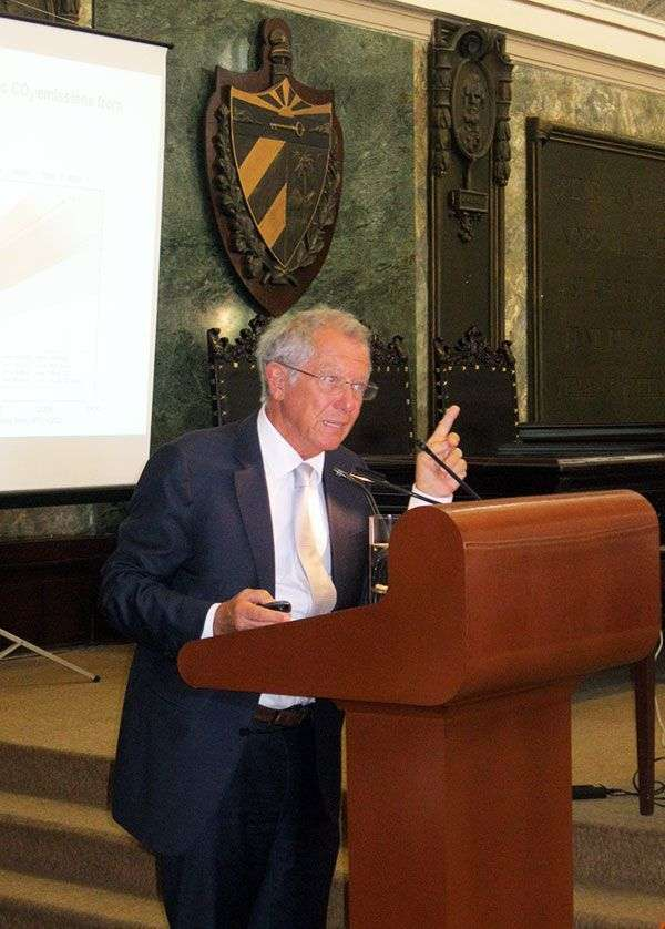 Sir David King, Representante Especial para Cambio Climático del Ministro británico de Relaciones Exteriores / Foto: Cortesía del entrevistado