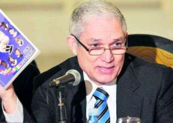 Juan Francisco Puello Herrera, presidente de la Confederación de Béisbol del Caribe.