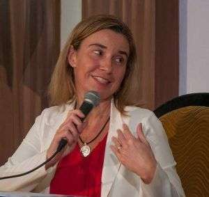 The High Representative of the Union for Foreign Affairs, Federica Mogherini, visited Cuba to accelerate the normalization of relations with Cuba / Photo: Raquel Pérez Díaz