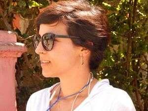 Claudia cobra el llenado de planillas y está ahorrando para lograr, algún día, pasar unas vacaciones en La Florida / Foto: J.J Nieves