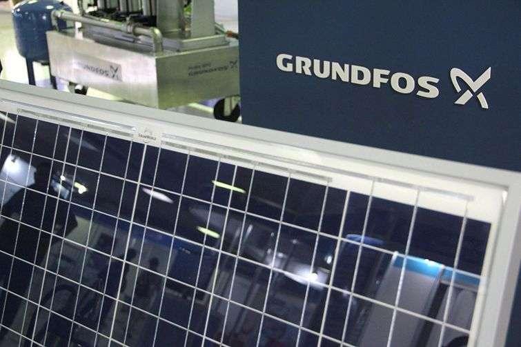 Grundfos propone una tecnología novedosa de paneles solares para equipos de bombeo. Foto: Yosel Martínez