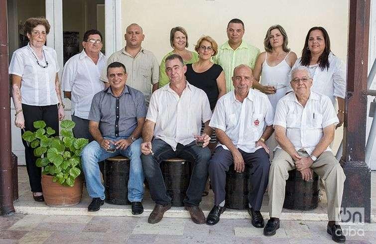 Maestros y aspirantes a maestras. Foto: Alain L. Gutiérrez Almeida