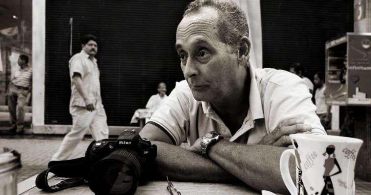 El fotógrafo Tomás Inda, director de la EFCH.