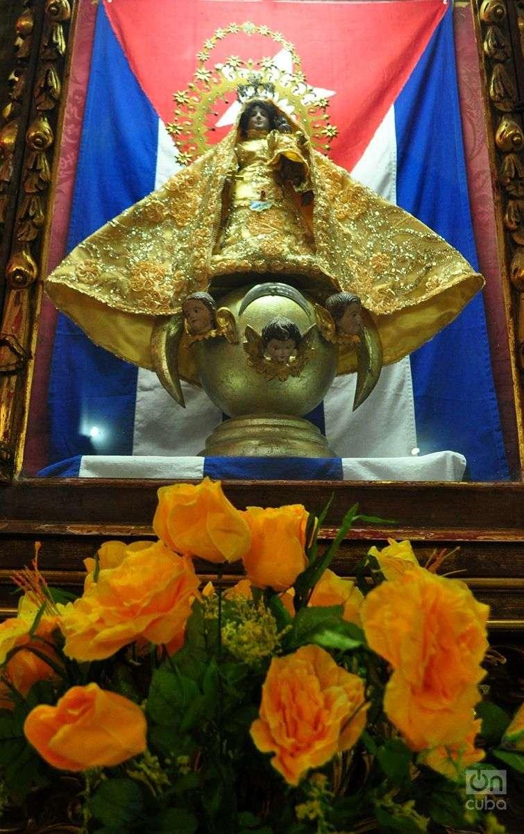 La Virgen de la Caridad de El Cobre, Patrona de Cuba. Foto: Yariel Valdés / Archivo.