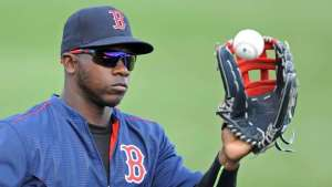 Rusney Castillo. Foto: Christopher Evans.