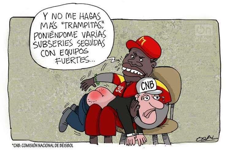 """""""Pau pau"""" Caricatura: Osvaldo Gutiérrez Gómez (Osval)"""
