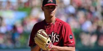 Yoan López es uno de los cubanos en la liga de prospectos de Arizona / Foto: www.m.mlb.com