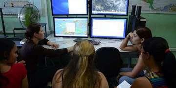 Sistema SMARTMET en Cuba. Foto: Cortesía del autor.