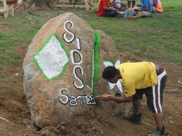El Estado Independiente de Samoa es el que le da la primera Bienvenida en el Mundo al Año Nuevo. Foto: José Rubiera