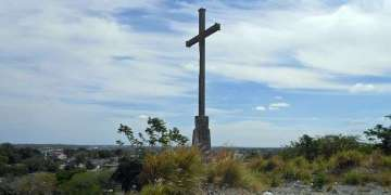 Loma de la Cruz en Guanabacoa, improvisado observatorio de Don Mariano Faquineto para observar el tiempo y, sobre todo la dirección del movimiento de las nubes.