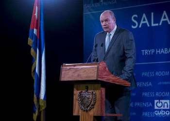El ministro cubano de Comercio Exterior e Inversión Extranjera, Rodrigo Malmierca. Foto: Alain L. Gutiérrez / Archivo.