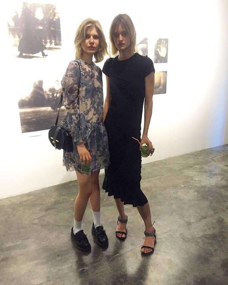 Eva Berzina y Nadine Strittmatter. Foto: Instagram