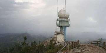 Estación meteorológica de la Gran Piedra, en Santiago de Cuba. Foto: imaggeo.egu.eu