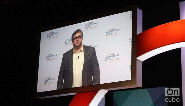 Reid Hoffman, executive president and co-founder of Linkedin.
