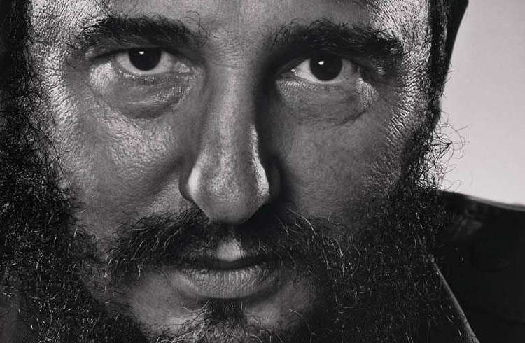 Fidel Castro. Nueva York, 1971. Foto: Yousuf Karsh.