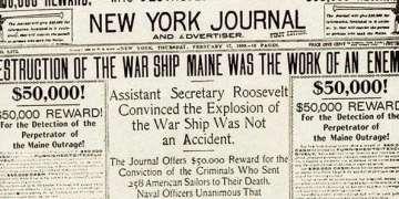 New York Journal, edición de 1898.