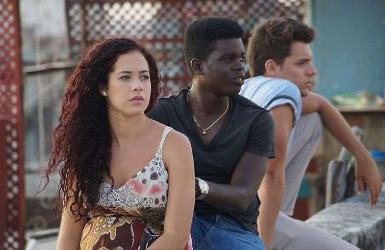 Andrea Doimeadios, Jonathan Navarro y Enmanuel Galban, los protagonistas. Foto: Cortesía.