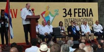 Inauguración de FIHAV 2016. Foto: Jesús Rodríguez.