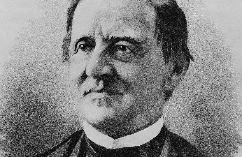 Samuel J. Tilden, candidato por el Partido Demócrata en las elecciones de 1876 en Estados Unidos.