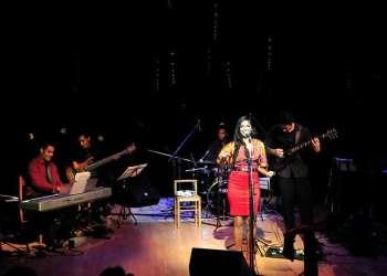 Concierto de Luna Manzanares en el Museo de Bellas Artes. Foto: Cortesía de Luna Manzanares.