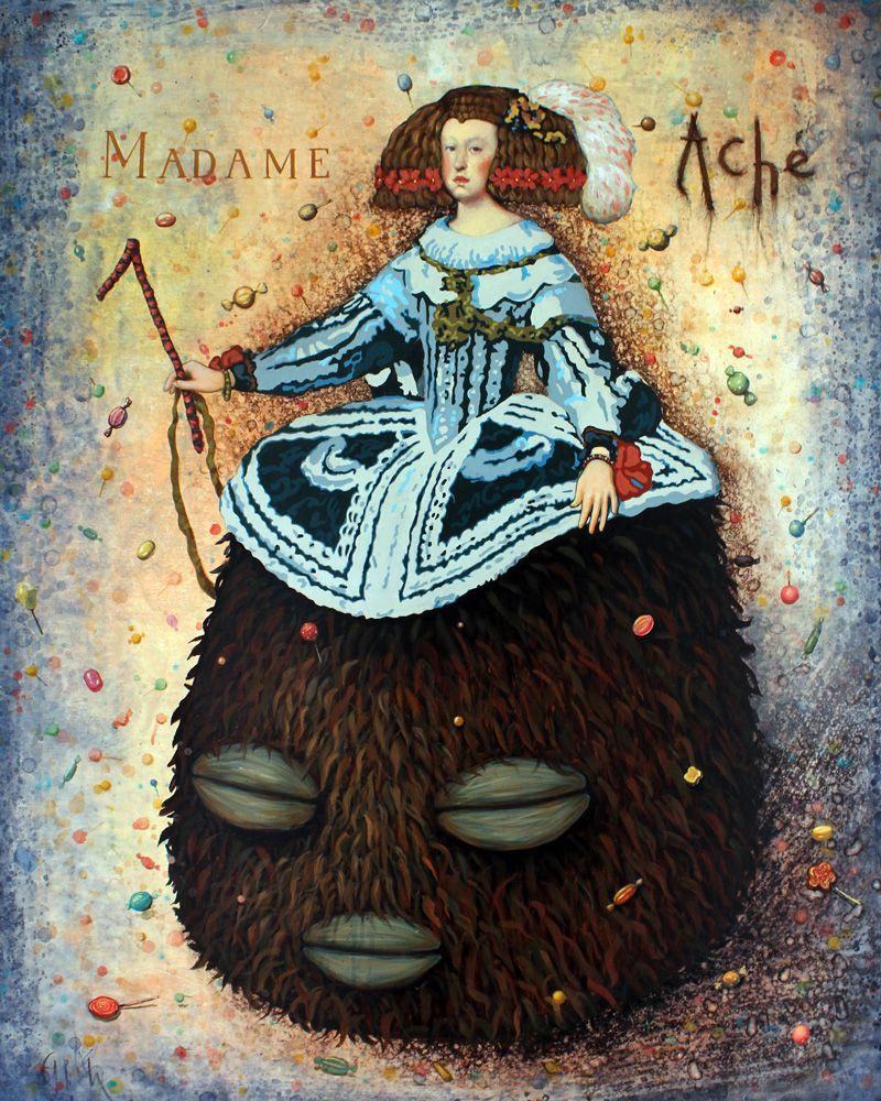 """""""Madame Aché"""". 2016. Abela."""