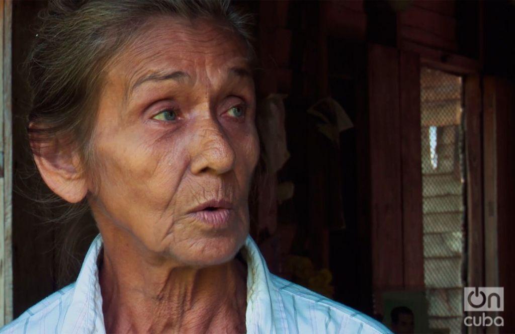 Olga López, una campesina de la Sierra Maestra. Foto: Carlos Y. Rodríguez.