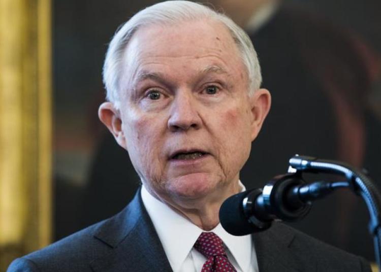 Jeff Sessions, el fiscal general de Estados Unidos (EFE)