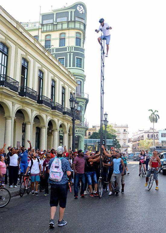 Guirola en su último intento de récord. Foto: Abel Rojas Barallobre / Cubahora.