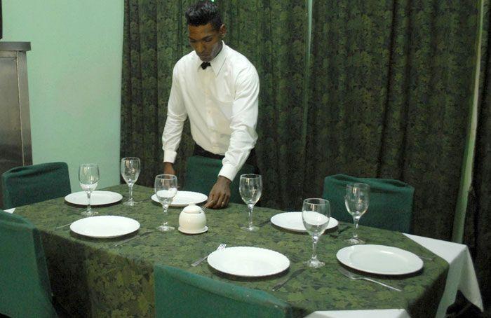 La posada de Vento también ofertará a las parejas servicio de restaurante. Foto: Trabajadores.