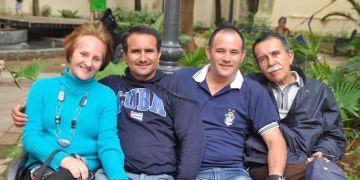 Familia Santos Cabrera. Foto: Cortesía del autor.