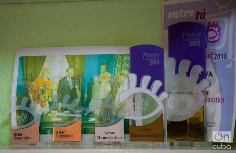 """Premios de la popularidad entregados por el programa """"Entre tú y yo"""". Foto: Claudio Pelaez Sordo."""