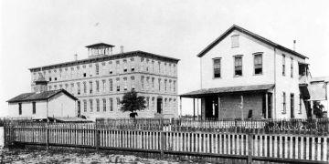 Fábrica de tabaco de Tampa, de finales del siglo XIX.